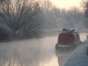 Canal in winter